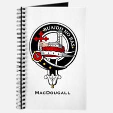 MacDougall Clan Crest Badge Journal