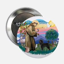 """St Francis #2 / PWD (stand) 2.25"""" Button"""