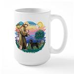 St Francis #2 / PWD (stand) Large Mug