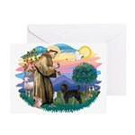 St Francis #2 / PWD (stand) Greeting Cards (Pk of