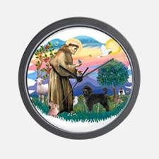 St Francis #2 / PWD (stand) Wall Clock