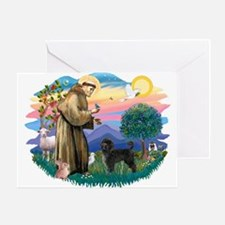 St Francis #2 / PWD (stand) Greeting Card