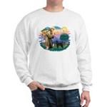 St Francis #2 / PWD (stand) Sweatshirt