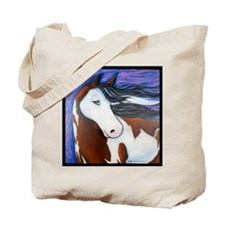 "Paint Horse ""Luna"" Tote Bag"