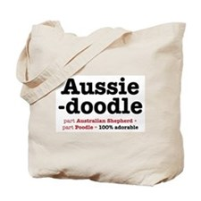 Aussiedoodle - Dog Tote Bag Tote Bag