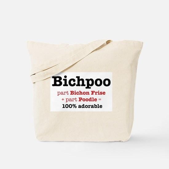 Bichpoo - Dog Tote Bag Tote Bag