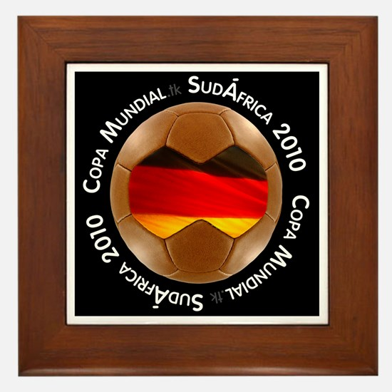 Unique Germany soccer 2010 Framed Tile