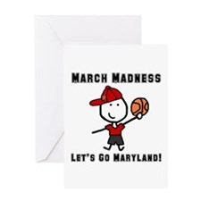 March Madness UMD Greeting Card