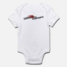Funny Survive Infant Bodysuit