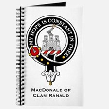 MacDonald Clan Ranald Crest Journal