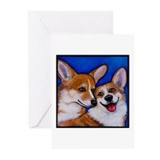 Corgi Pembroke Welsh Greeting Cards (Pk of 10)
