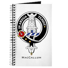 MacCallum Clan Crest Badge Journal
