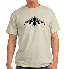 Fleur De Lis with Swirls T-Shirt