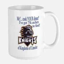 Lady Knights' Large Mug