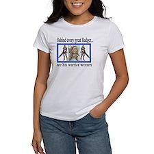 Women Warrior's 2-sided T-Shirt