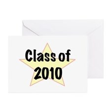 Funny Class 2010 Greeting Cards (Pk of 10)