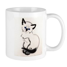 Siamese Cat Art Mug