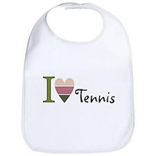 Cute Tennis shop Bib