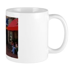 Panoramic River Street, Savannah Coffee Mug