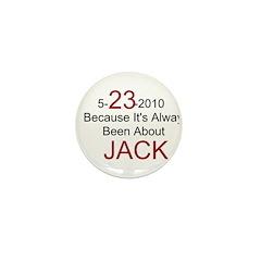 5-23-2010 Always Jack / Mini Button (100 pack)