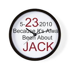 5-23-2010 Always Jack / Wall Clock