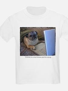 Online Pug T-Shirt