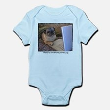 Online Pug Infant Bodysuit