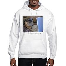 Online Pug Hoodie