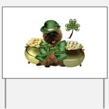 St. Patrick's Cairn Terrier Yard Sign