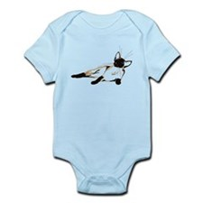 Laid Back Siamese wide Infant Bodysuit