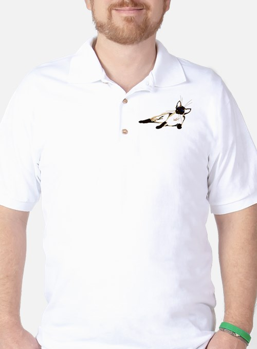 Laid Back Siamese wide Golf Shirt