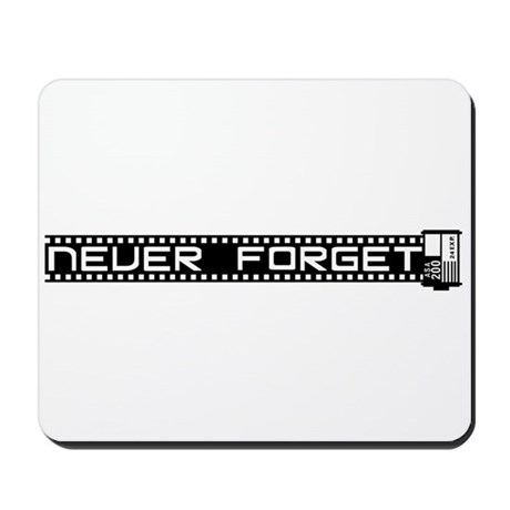 WTD: Never Forget (film) Mousepad