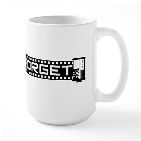 WTD: Never Forget (film) Large Mug