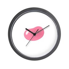 just pink jellybean Wall Clock
