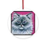 Ragdoll Cat Ornament (Round)