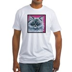Ragdoll Cat Fitted T-Shirt