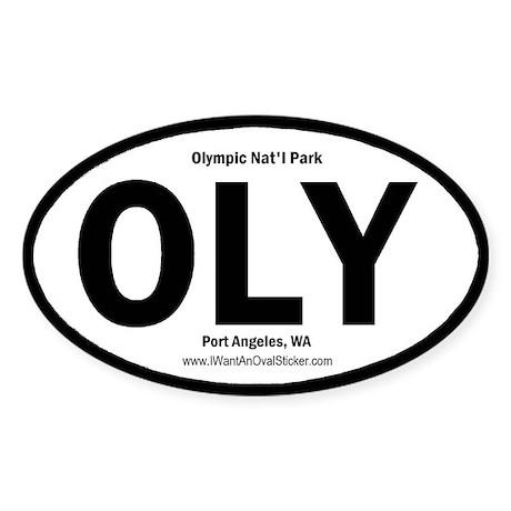 Olympic Oval Sticker