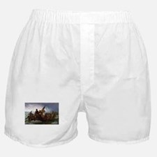 Washington Crossing the Delaware E Go Boxer Shorts