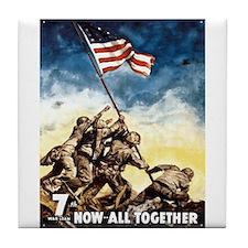 Iwo Jima Tile Coaster