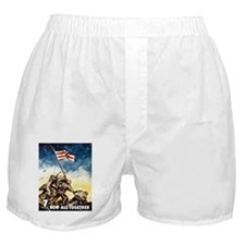 Iwo Jima Boxer Shorts