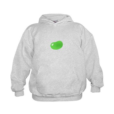 just green jellybean Kids Hoodie
