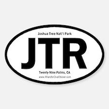Joshua Tree Oval Decal