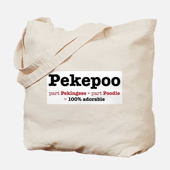 Pekepoo - Dog Tote Bag