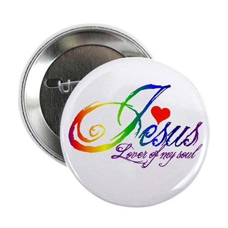 "Jesus Lover of my soul primar 2.25"" Button"