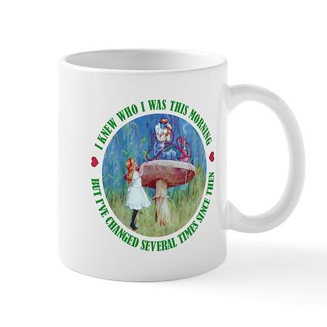 I KNEW WHO I WAS THIS MORNING Mug