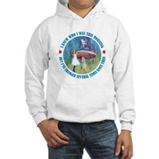I KNEW WHO I WAS THIS MORNING Hoodie Sweatshirt