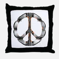 Metalloid CND Throw Pillow