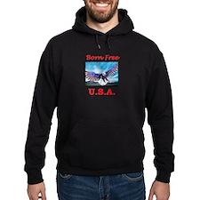 Born free USA Eagle Hoodie