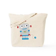Unique Robot Tote Bag