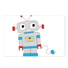 Funny Robot Postcards (Package of 8)